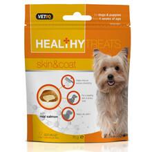 Vetiq Healthy Treats Skin & Coat For Dogs & Puppies - Przysmaki dla psów i szczeniąt zdrowa skóra i sierść 70g