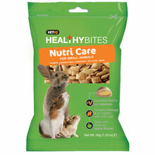 Vetiq Healthy Bites Nutri Care For Small Animals - Przysmaki z witaminami dla gryzoni, 30g