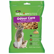 Vetiq Healthy Bites Odour Care For Small Animals - Przysmaki dla gryzoni kontrola zapachu, 30g