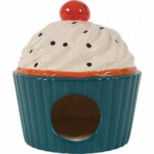 Zolux Domek ceramiczny Ciastko, kolor niebieski