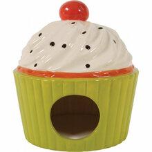 Zolux Domek ceramiczny Ciastko, kolor seledynowy