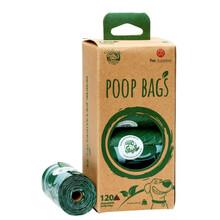 PET SUPPLIES EKO - Biodegradowalne woreczki na psie odchody 120 szt.
