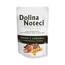 Dolina Noteci Premium Danie z łososia z marchewką i ryżem - Mokra karma dla psów ras małych 300g