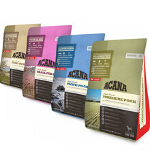 ACANA Singles Pakiet Startowy 4 x 340g - Zestaw suchych karm monoproteinowych dla psów