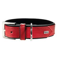 HUNTER Skórzana obroża dla psa Capri, kolor czerwony