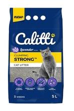 CALITTI STRONG Lavender żwirek bentonitowy dla kota 5l