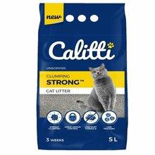 CALITTI STRONG Unscented żwirek bentonitowy bezzapachowy dla kota 5l