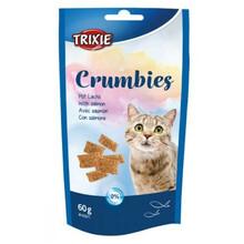 TRIXIE Przysmak Crumbies dla kota z łososiem 60 g