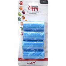 Zippy - woreczki na psie odchody, 4 rolki po 20 sztuk