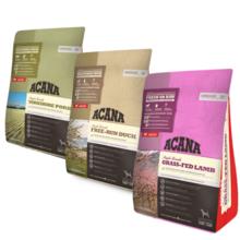 ACANA Singles Pakiet Startowy 3 x 340g - Zestaw suchych karm monoproteinowych dla psów