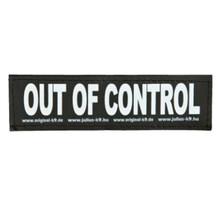 TRIXIE Julius-K9® naszywka OUT OF CONTROL