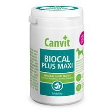 CANVIT BIOCAL PLUS MAXI FOR DOGS - Zestaw minerałów dla rozwoju kości, ścięgien i stawów dla psów ras dużych, 230g
