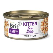 Brit Care Cat Kitten Filet z tuńczyka - mokra karma dla kotów sterylizowanych, puszka 70g