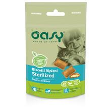 OASY Chrupiące Ciasteczka Dla Kotów sterylizowanych 60 g