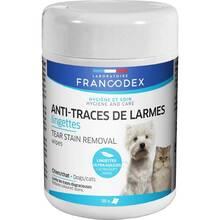 Francodex - chusteczki usuwające ślady łez, dla psów i kotów, 50 szt.