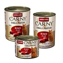Animonda Carny Single Protein Wołowina - Mokra karma dla kota, puszka