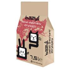 BAZYL AG+ PELLET - Drewniany, zbrylający żwirek dla kota 7,5L