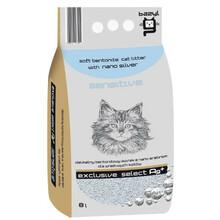 BAZYL SELECT AG+ SENSITIVE - Drobny żwirek dla kotów wrażliwych 8L