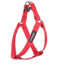 Amiplay - szelki dla psa, seria Cotton, kolor czerwony