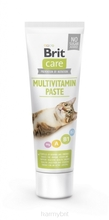 BRIT CARE Cat Paste Multivitamin pasta dla kota 100g