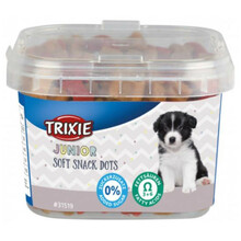 TRIXIE Miękkie przysmaki Junior Soft Snack Dots 140g
