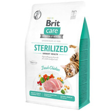 BRIT CARE CAT GRAIN-FREE STERILIZED URINARY HEALTH  - hipoalergiczna karma dla kotów sterylizowanych z kurczakiem