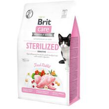 BRIT CARE CAT GRAIN-FREE STERILIZED SENSITIVE - hipoalergiczna karma dla kotów sterylizowanych z królikiem