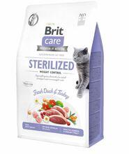 BRIT CARE CAT GRAIN-FREE STERILIZED WEIGHT CONTROL - hipoalergiczna karma dla kotów sterylizowanych