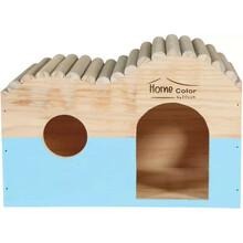 ZOLUX Domek drewniany Fala Home Color z bali