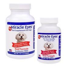 MIRACLE EYES - naturalny suplement diety likwidujący przebarwienia na sierści, smak wołowina