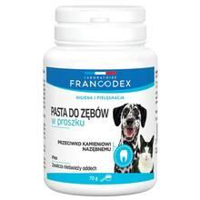 Francodex - pasta do zębów dla psów i kotów, proszek 70g
