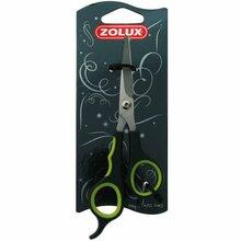"""Zolux - nożyczki groomerskie proste, bezpieczne, 6"""""""