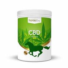 HORSELINE PRO CBD - kwiatostan konopi włóknistych w formie pelletu o zawartości CBD na poziomie 0.5%