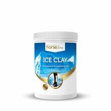 HORSELINE PRO Ice Clay - glinka o właściwościach regenerujących szczególnie polecana dla koni sportowych, 1400 ml