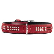 HUNTER Obroża dla psa Softie Deluxe, w kolorze czerwonym