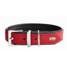 HUNTER Obroża dla psa Vega, w kolorze czerwono-czarnym