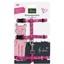 HUNTER Szelki i smycz dla kota z serii BY LAURA, różowe