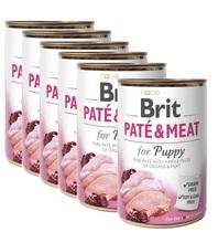 BRIT Pate&Meat Puppy 12x400g PAKIET! mokra karma dla szczeniąt i młodych psów