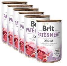 BRIT Pate&Meat Lamb 12x400g PAKIET! mokra karma z jagnięciną dla psa