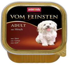 ANIMONDA Vom Feinsten Adult Jeleń, szalka 150g [składnik zestawu]