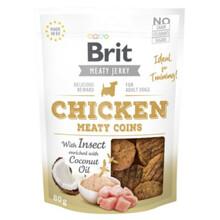 BRIT Jerky Snack– Chicken Meaty coins with Insect - przysmak dla psa