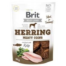 BRIT Jerky Snack– Herring Meaty coins - przysmak dla psa
