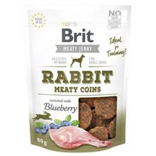 BRIT Jerky Snack– Rabbit Meaty coins - przysmak dla psa 80g