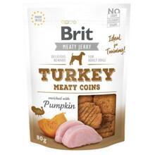BRIT Jerky Snack– Turkey Meaty coins - przysmak dla psa