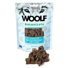 Woolf Botanicals Seafish stripes - przysmak dla psów z algami i tymiankiem