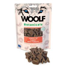 Woolf Botanicals Turkey stripes - przysmak dla psów z pomidorami
