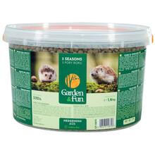 GARDEN & FUN Karma dla jeży wolnożyjących - 3 pory roku  1,6 kg