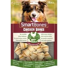 ZOLUX Smart Bones Chicken mini 18 szt. - Kości do żucia dla psów ras małych