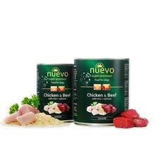 NUEVO Junior Chicken & Beef - mokra karma dla młodych psów, kurczak z wołowiną