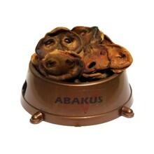 ABAKUS noski wieprzowe ciemne - Naturalny gryzak dla psa 100g
